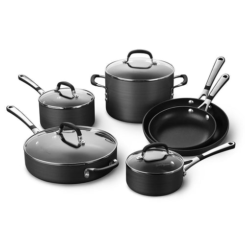 | Cookware | Calphalon Cookware Set | Simply Calphalon Cookware Set | Nonstick Cookware Set | 10 Piece Cookware | Cookware Set | Kitchen | Calphalon |