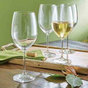 | Classics White Wine Glasses | White Wine Glasses Set | Wine Glasses Set | Wine Glasses | white wine glasses | Lenox | Kitchen | crystal white wine glasses | break resistant wine glasses |