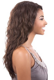 Brown Natural Wavy Shoulder Length Wigs-ZAZA139-ZAZALUM WIGS