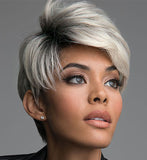 Chic Style | Fashion Ambition Short Wig For Women-ZAZA193-ZAZALUM WIGS