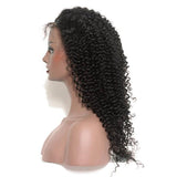 "12"" Natural Black Jerry Curly Hair Bundle-ZAZA212-ZAZALUM WIGS"