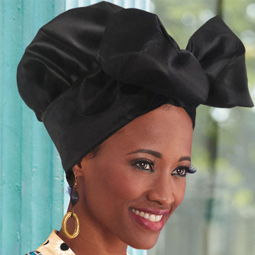 Creative Shapable Headwrap for Black Queen -ZAZA1801-ZAZALUM WIGS