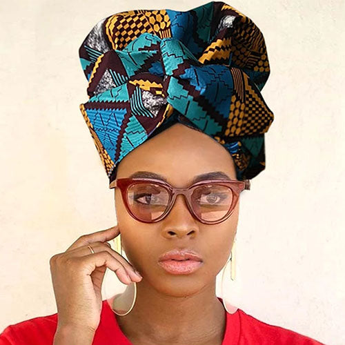 Creative Premium Satin Inner Headwrap Combined With a Nightcap-ZAZA1974-ZAZALUM WIGS