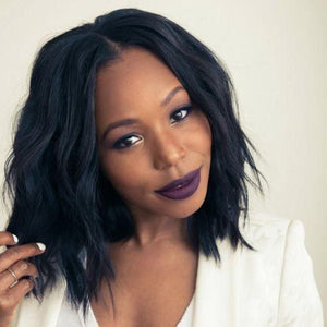 Layered Bob Wigs For Afro Women-ZAZA200-ZAZALUM WIGS