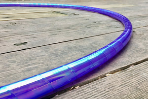 Opalescent Taped Hoop