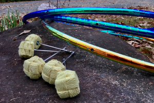 Reflective Taped Color Shifting Performance Fire Hula Hoop