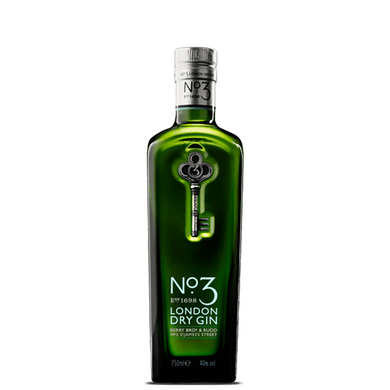 NO. 3 LONDON DRY GIN 0.7L,No. 3, wevino.store