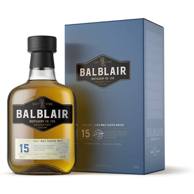 Balblair 15 Years Old Highland Single Malt Whisky 46% 0,7l In Giftbox
