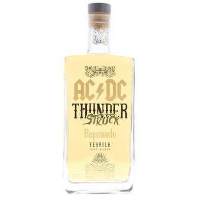 AC/DC THUNDERSTRUCK TEQUILA REPOSADO 0.7L,AC/DC, wevino.store