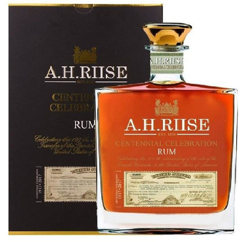 A.H. Riise CENTENNIAL CELEBRATION Rum - Old Edition 45% Vol. 0,7l in Giftbox