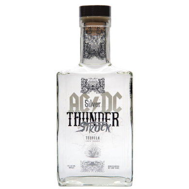 AC/DC THUNDERSTRUCK TEQUILA BLANCO 0.7L,AC/DC, wevino.store
