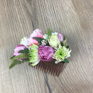 Fresh hand made flower hair clip