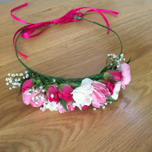 Load image into Gallery viewer, fresh custom made flower crowns