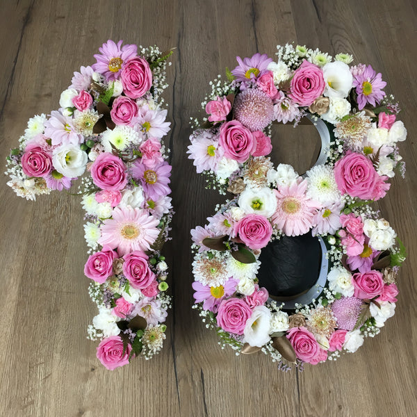 Fresh Floral numbers