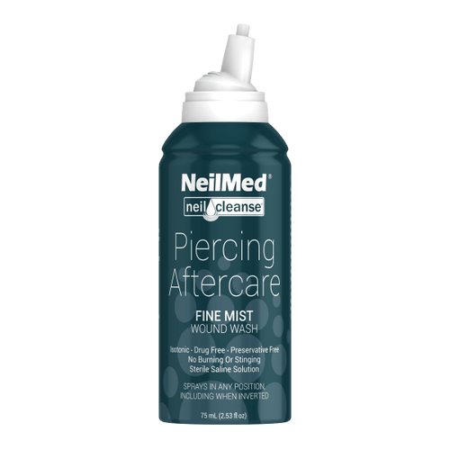 Sterile Saline piercing aftercare 2.5oz.