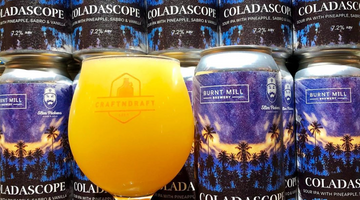 Coladascope - Burnt Mill Brewery & Slim Pickens Cider & Mead