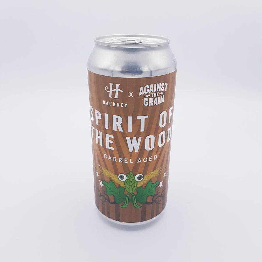 Hackney x Against The Grain - Spirit of The Wood 8.5%