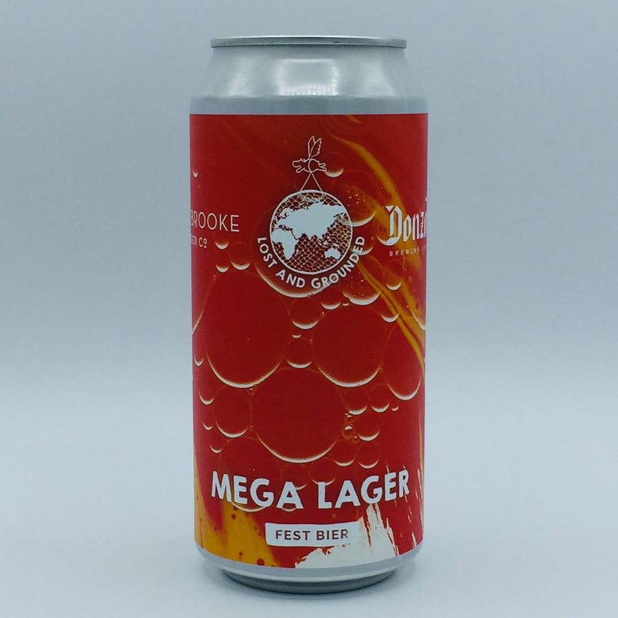 Lost & Grounded x Braybrooke x Donzoko - Mega Lager 5.4%