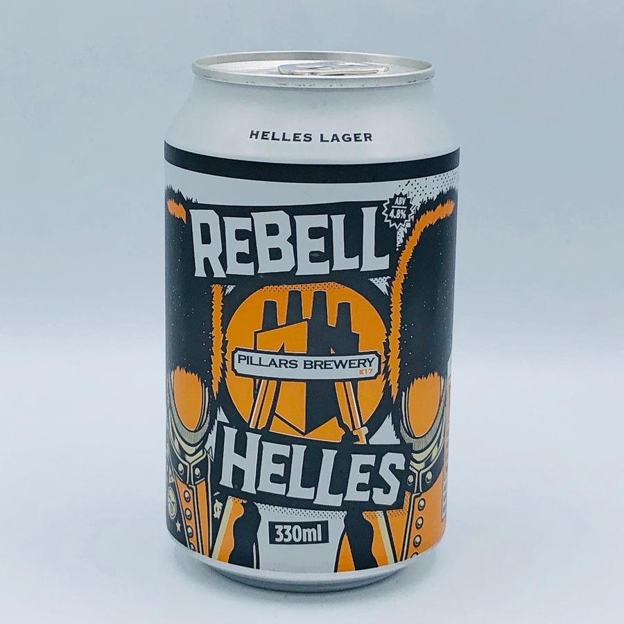 Pillars Brewery - Rebell Helles 4.8%
