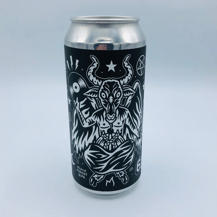 Black Iris x Crypt Of The Wizard x Craftndraft - DRINK BEER HAIL SATAN 6.66%