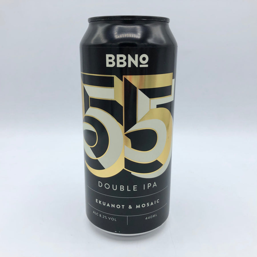 Brew By Numbers - 55 | Double IPA- Ekuanot & Mosaic 8.2%