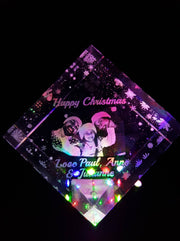 Christmas Crystal instead of a Card