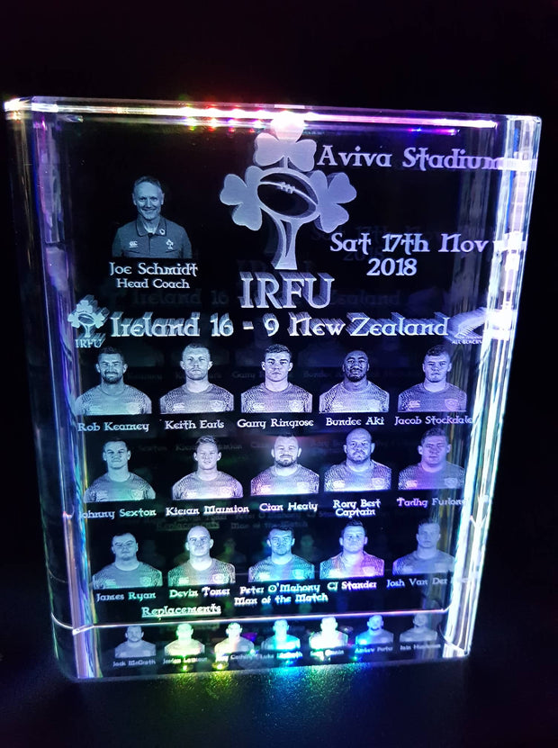 Irelands  V All Black  Crystal