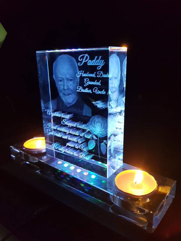 Crystal Candle Memorial Shrine