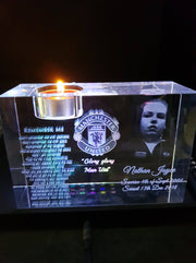 Exlarge Memorial Tealight Crystal