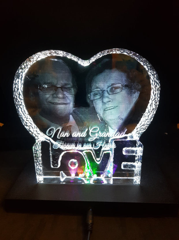 The Big Love Heart Crystal
