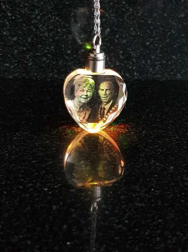 Memorial Crystal Pendant