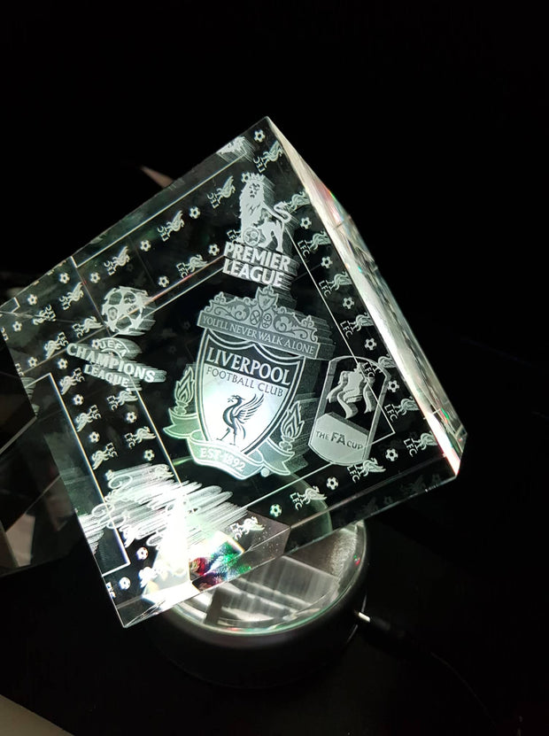 "Liverpool Cut Cube ""You'll Never Walk alone"""