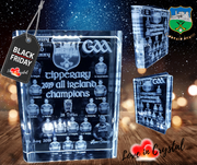 Tipperary All Ireland Champions Crystal