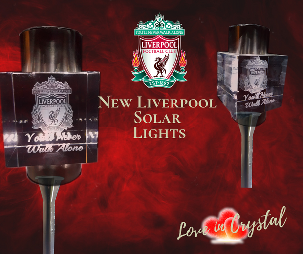 New Liverpool Solar Crystal Lights