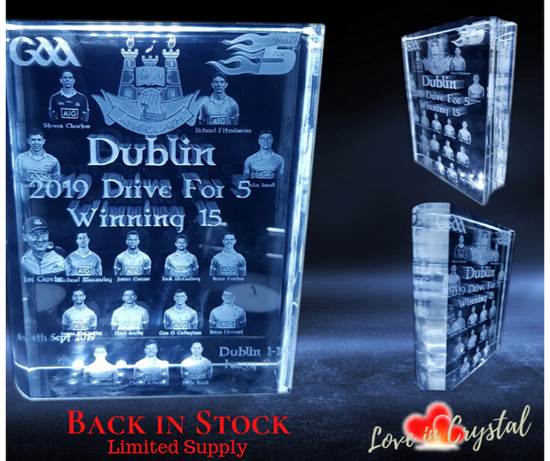 Dublin's Historic 5 in a Row Crystal Book
