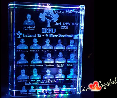 New size Ireland V All Blacks Book