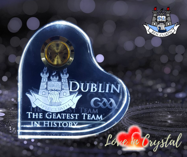 Dublin Greatest  Crystal Clock