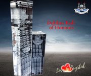 Dublin Roll of Honours Crystal