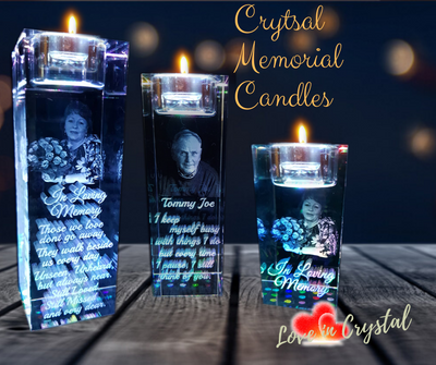 Personalise your own Memorial Candle Holder