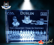 Dublin The Greatest Team in History Crystal