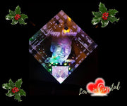 Christmas Memorial Crystal