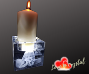 Memorial Church Candle Crystal
