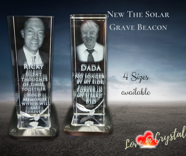 Solar Crystal Grave Beacon