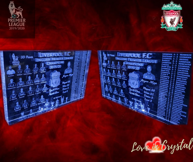 Liverpool Ultimate 2019/20 EPL Crystal