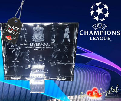 Liverpool Champions League Plaque