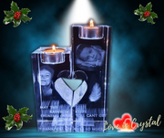 Love Twin Candle Holder