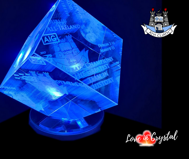 Dublin All-Ireland 2020  Football champions cube