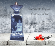 Sentiments Crafted Candle Holder