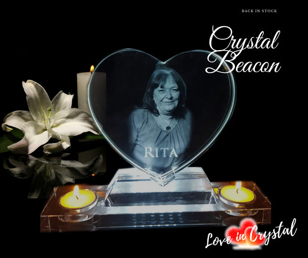 The Beacon Crystal heart