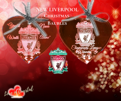 Liverpool Christmas Crystal Bauble